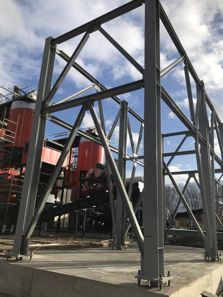 Installation of metal structures and equipment, Riga